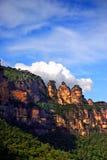 Montanha azul, NSW, Austrália Fotos de Stock Royalty Free