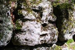 A montanha balança Resmbling ao rosto humano Fotografia de Stock