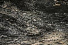 A montanha balança a textura do close up Fotos de Stock Royalty Free