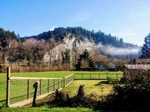 Montanha bonita imagens de stock