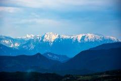 Montanha bonita de Prenj na cidade de Prozor Imagens de Stock