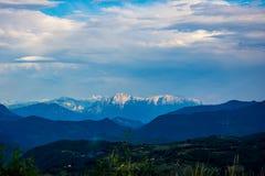 Montanha bonita de Prenj na cidade de Prozor Foto de Stock Royalty Free