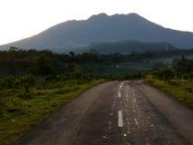 Montanha bonita na manhã imagem de stock royalty free