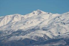 Montanha branca Imagens de Stock