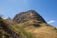 Montanha BRITÂNICA de Glencoe Escócia em montanhas escocesas Foto de Stock Royalty Free