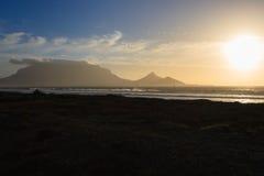 Montanha Cape Town da tabela fotos de stock