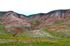 Montanha colorida Khizi Fotos de Stock