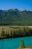 Montanha com cor do outono Imagem de Stock