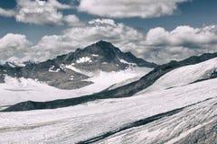 Montanha com gelo Imagens de Stock Royalty Free