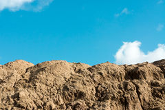 Montanha da areia Imagem de Stock