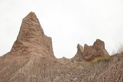 Montanha da areia Fotos de Stock