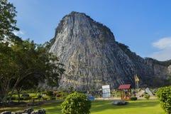 Montanha da Buda, Tailândia fotografia de stock royalty free