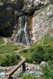 Montanha da cachoeira Imagens de Stock Royalty Free