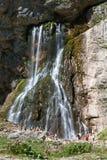 Montanha da cachoeira Fotografia de Stock Royalty Free