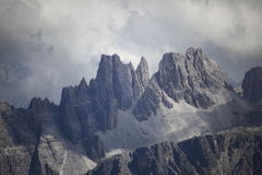 Montanha da dolomite fotografia de stock royalty free