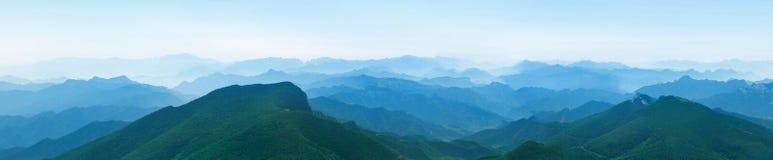Montanha da névoa Imagem de Stock Royalty Free