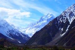 Montanha da neve Fotos de Stock