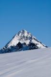 Montanha da neve Fotografia de Stock