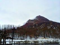 Montanha da neve Imagem de Stock Royalty Free