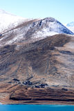 Montanha da neve Foto de Stock