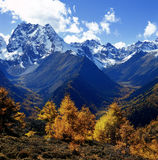 Montanha da neve de Baimang Imagens de Stock Royalty Free