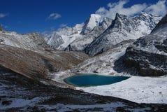 A montanha da neve de Konka Risumgongba Imagem de Stock Royalty Free