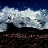 Montanha da neve de Meili Foto de Stock Royalty Free