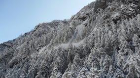 Montanha da neve, porcelana Imagem de Stock Royalty Free