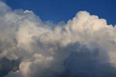 Montanha da nuvem Foto de Stock