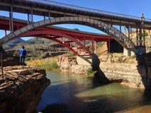 Montanha da ponte Fotografia de Stock