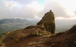 Montanha da sela Fotografia de Stock Royalty Free