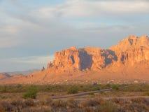 Montanha da superstição Fotografia de Stock