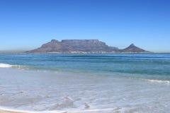 Montanha da tabela, Cape Town, África do Sul fotografia de stock