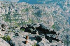 Montanha da tabela da paisagem Imagem de Stock