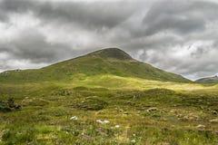 Montanha das montanhas em Scotland fotos de stock