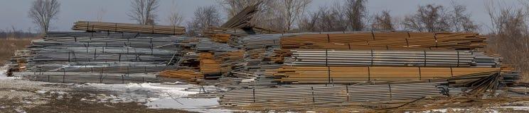 Montanha de aço Fotografia de Stock