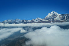 Montanha de Annapurna Imagens de Stock Royalty Free