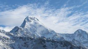 Montanha de Annapurna fotografia de stock