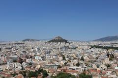 Montanha de Athenes Foto de Stock Royalty Free