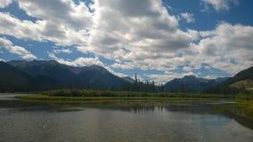 Montanha de Banff fotos de stock