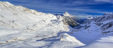 Montanha de Biberkopf Fotos de Stock