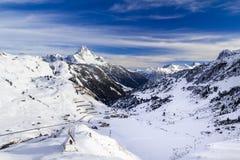 Montanha de Biberkopf Imagem de Stock