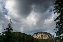 Montanha de Bicaz Foto de Stock