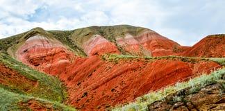 Montanha de Bogdo Astracã, Rússia, natural Imagens de Stock