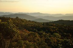 Montanha de Brasil Imagens de Stock Royalty Free