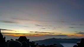 Montanha de Bromo fotos de stock royalty free