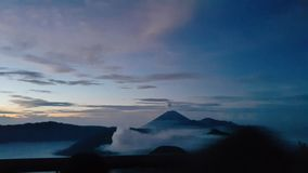 Montanha de Bromo imagens de stock royalty free
