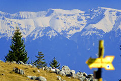 Montanha de Bucegi em Romania Imagens de Stock