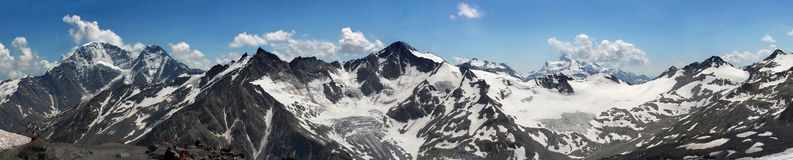 Montanha de Cáucaso Fotografia de Stock