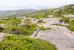 Montanha de Cadillac, Maine Imagens de Stock Royalty Free